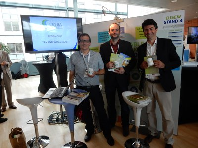 CESBA shows strong presence at EUSEW in Brussels